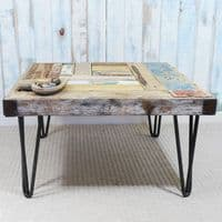 Whale Wharf Driftwood Side Table